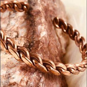 ❗️SALE❗️NEW Braided Copper Cuff